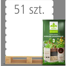 Wysoka grządka Podłoże uniwersalne 3 50 L Kronen - Paleta (51 sztuk)