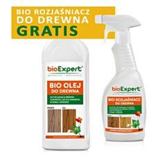 BIO Rozjaśniacz do drewna + olej do drewna 1000ml Bioexpert