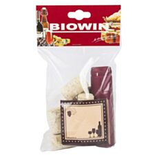 Zestaw: korki + etykiety + kapturki 8 sztuk Biowin