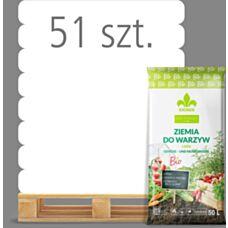 Ziemia BIO do ziół i warzyw 50 L Kronen - Paleta (51 sztuk)