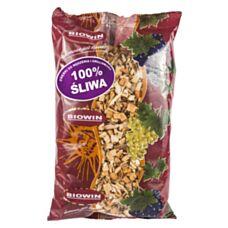 Zrębki do wędzenia i grillowania 100% Śliwa 450g Biowin