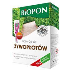 Nawóz do żywopłotów 1 kg Biopon
