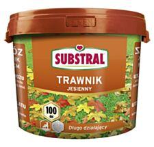 Nawóz długo działający jesienny do trawnika 100 dni 5 kg Substral