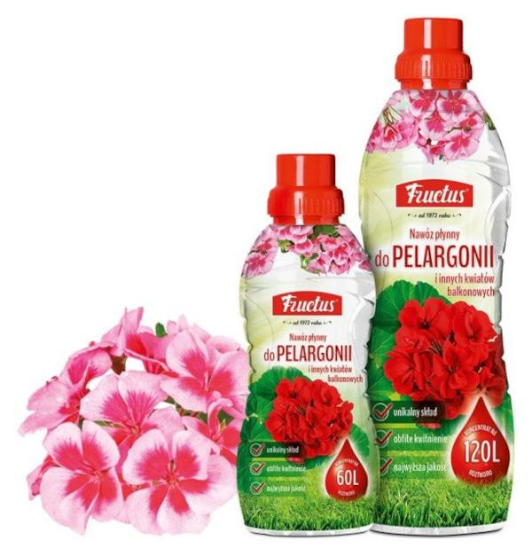 Fructus do pelargonii i innych kwiatów balkonowych
