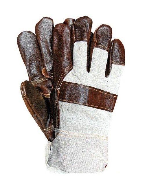 Rękawice ocieplane wzmacniane skórą R.E.I.S