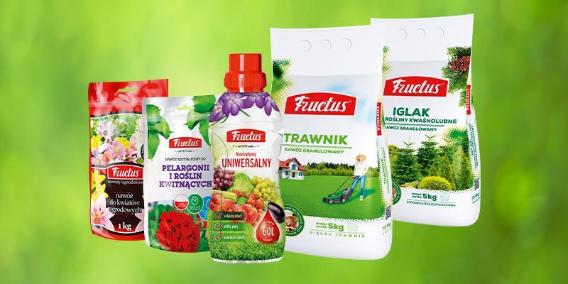 Nawozy do trawy Fructus